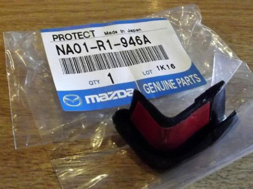 Hardtop rear edge protector end cap, l/h, Mazda MX-5 mk1 & mk2 hard top, left hand, NA01R1946